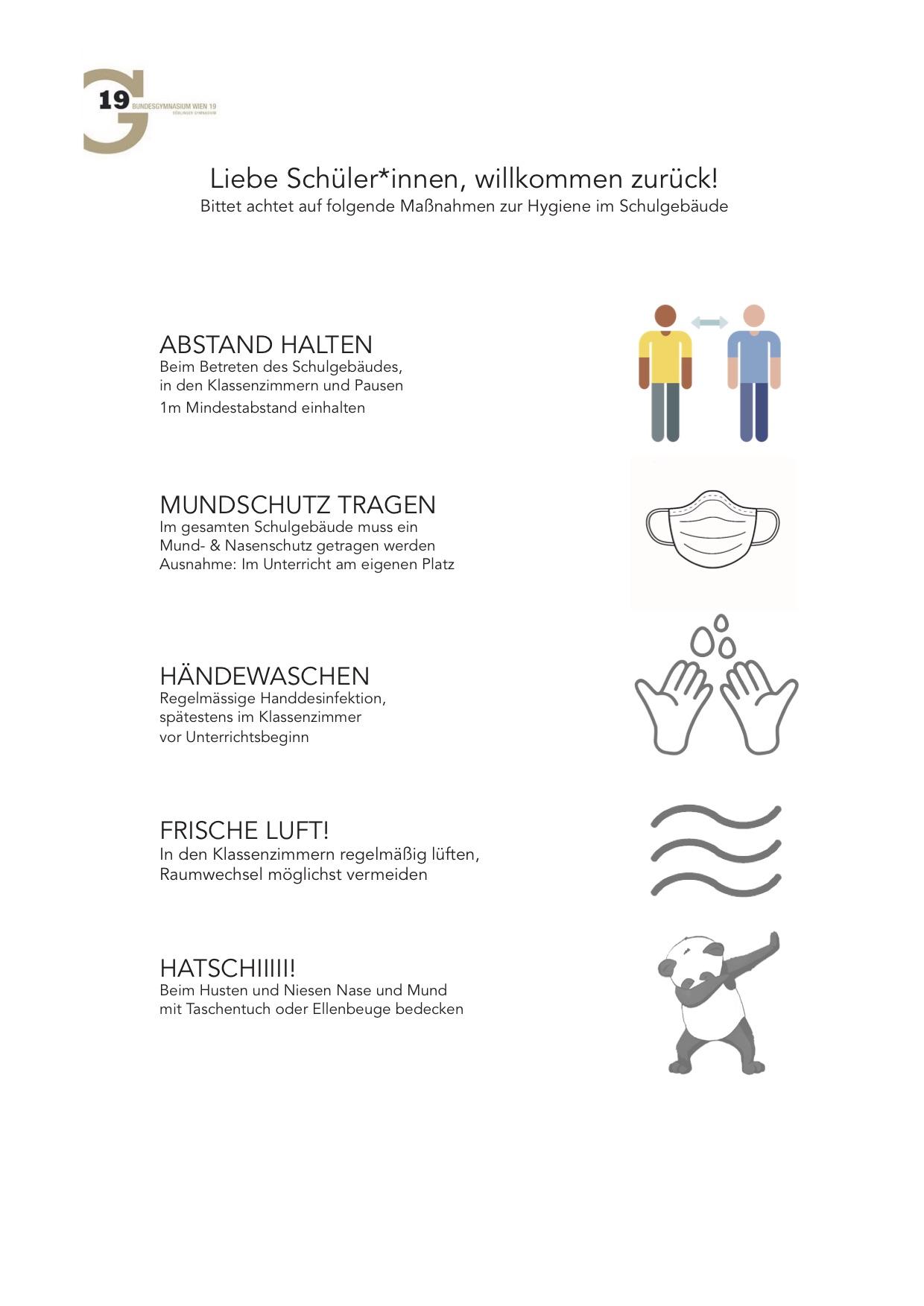 Hygiene-Handout